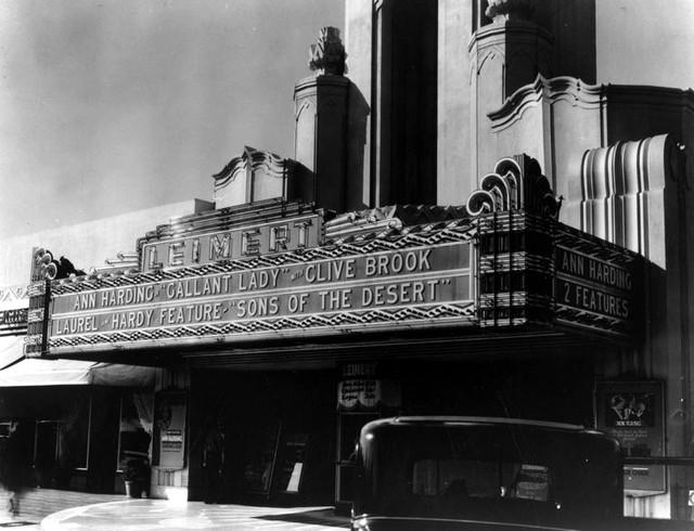 Leimert Theatre exterior