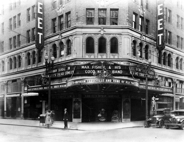 RKO Hillstreet Theatre exterior