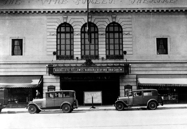 Vine Street Theatre exterior