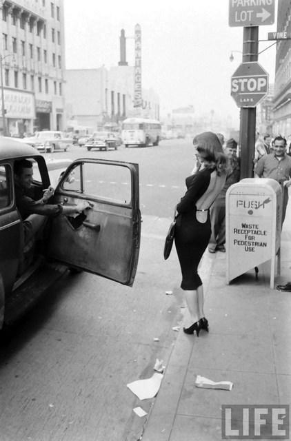 1957 LIFE Magazine photo credit Ralph Crane. Vikki Dougan pictured.