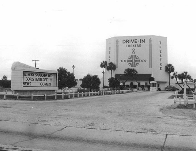 Hillsboro Drive-In Theater, Tampa FL