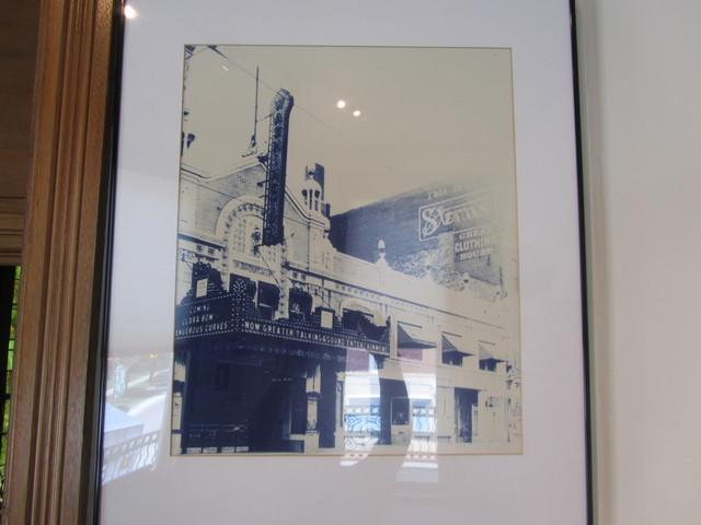 Framed photo of Washington Theater