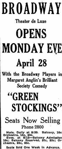 April 24th, 1913 ad