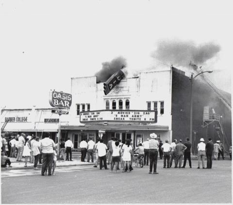 Arcadia Burning June 2, 1970