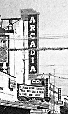 Arcadia Theatre Sign