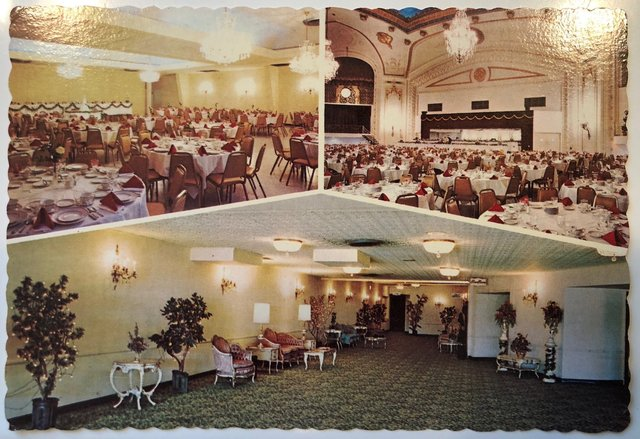when converted to banquets