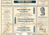 Strand Great Kills Handbill (inside) 1931