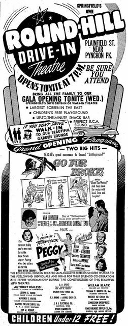 August 8th, 1951 grand opening ad