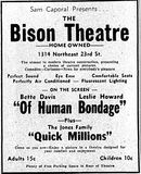 Bison Theater