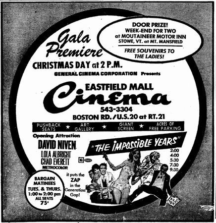 Grand opening ad from December 25th, 1968