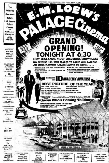 March 22nd, 1968 grand opening ad