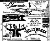 Showcase 4 &amp; 5 grand opening ad from June 30th, 1971