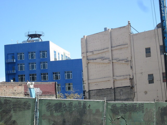 PARAMOUNT THEATRE SF CA PARKING LOT NEW BUILD