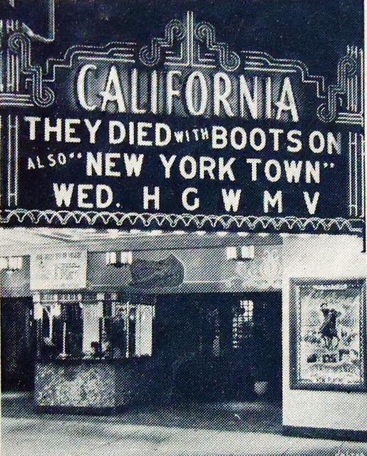 Fox California Theatre exterior