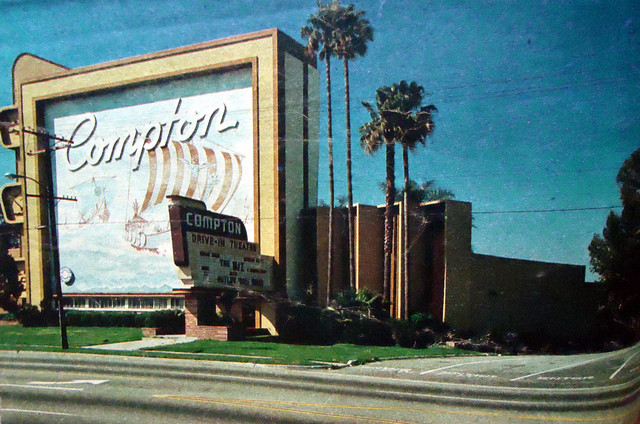 Pacific's Compton Drive-In exterior