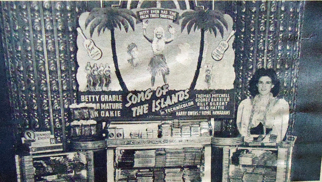 Fox Theatre lobby candy counter (1942)