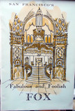 "Fox Theatre ""Fabulous and Foolish"" program cover"