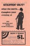 Vintage Orson Welles Cinema Flyer