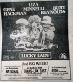 Mann's National Theatre &quot;Lucky Lady&quot; engagement
