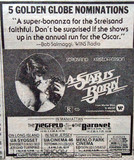 "Ziegfeld Theatre ""A Star is Born"" (1976) engagement"