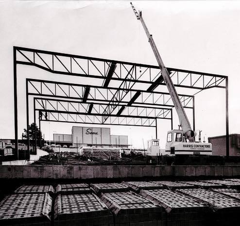 Construction of Fox White Lakes --  January 1967