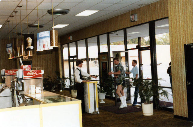 The lobby of Eastern Federal's Northside Twin Theatre