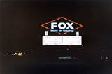 The Fox Drive-In Marquis at Night
