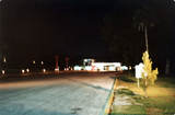 Entrance to the Midway Drive-In at Night (1982)