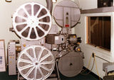 Cinemeccanica 35mm Film Transport and Projection System used at the Northside Twin Theatre