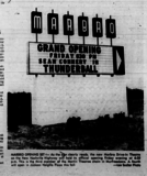 Marlbro Drive-In Grand Opening