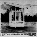 Marlbro Drive-In Grand Opening - Ticket Booth