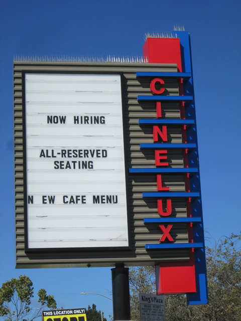Cinelux Capitola Marquee Near 41st AVE