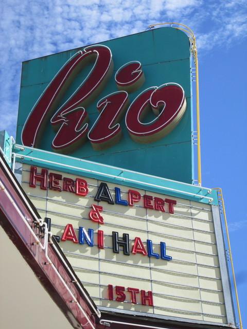 Rio Theatre Marquee