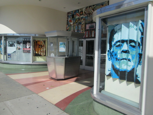 Clean Rio Theatre Entrance