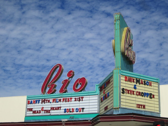 One Of The Best Theatre Marquees In California