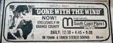 Mann's South Coast Plaza Theatre newspaper ad