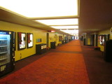 Hallway to the larger theatres at Metreon