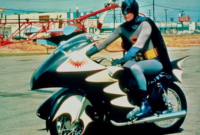 Batman near the Airport Theatre