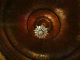 Large Ceiling Deco Light Castro Theatre SF CA