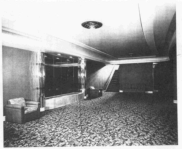 Lower (downstairs) lobby between Broughton Street and Broughton Lane.