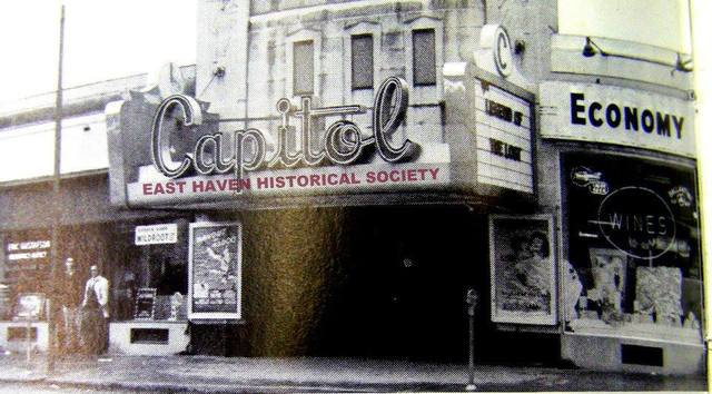 CAPITOL THEATER EAST HAVEN CT. - NEWER  MARQUEE