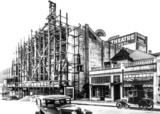 California Theatre Remodel, 1930