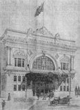 Architest's Drawing T&D (California) Theatre, 1914