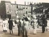 1948 parade photo via Dave Adair.