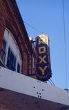 1980 Roxy sign photo credit Jerry Kerr.