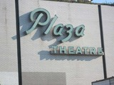 Plaza Theatre CLose Up of Original Sign