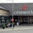 Cineworld Hemel Hempstead - Sign/Frontage/Entrance facing parking area to East - Day.