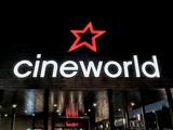 Cineworld Hemel Hempstead - Sign/Frontage/Entrance facing parking area to East - Night.