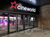 Cineworld Hemel Hempstead - Main Entrance - Doors Into Foyer - Night.