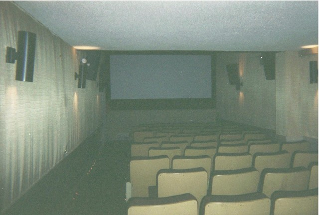 Interior photo of the small upstairs theater credit Jesse Turner.